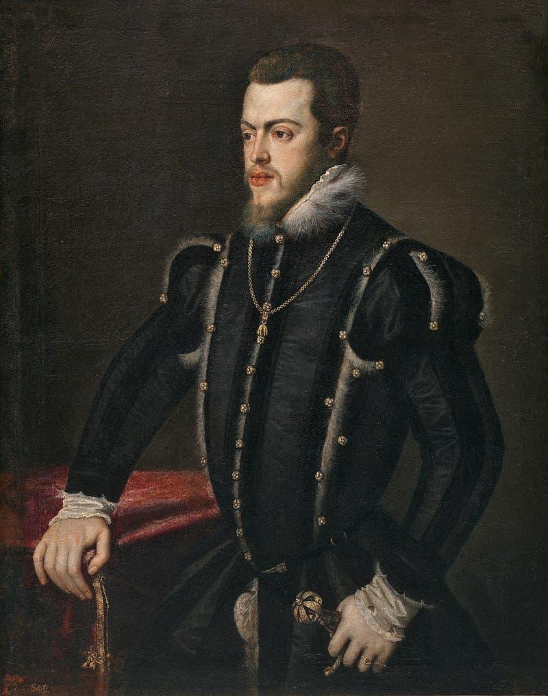 الملك الإسباني فيليب الثاني