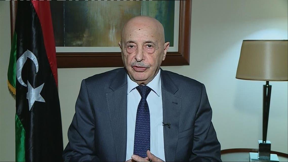 عقيلة صالح: السراج بات أسيراً لدى ميليشيات طرابلس