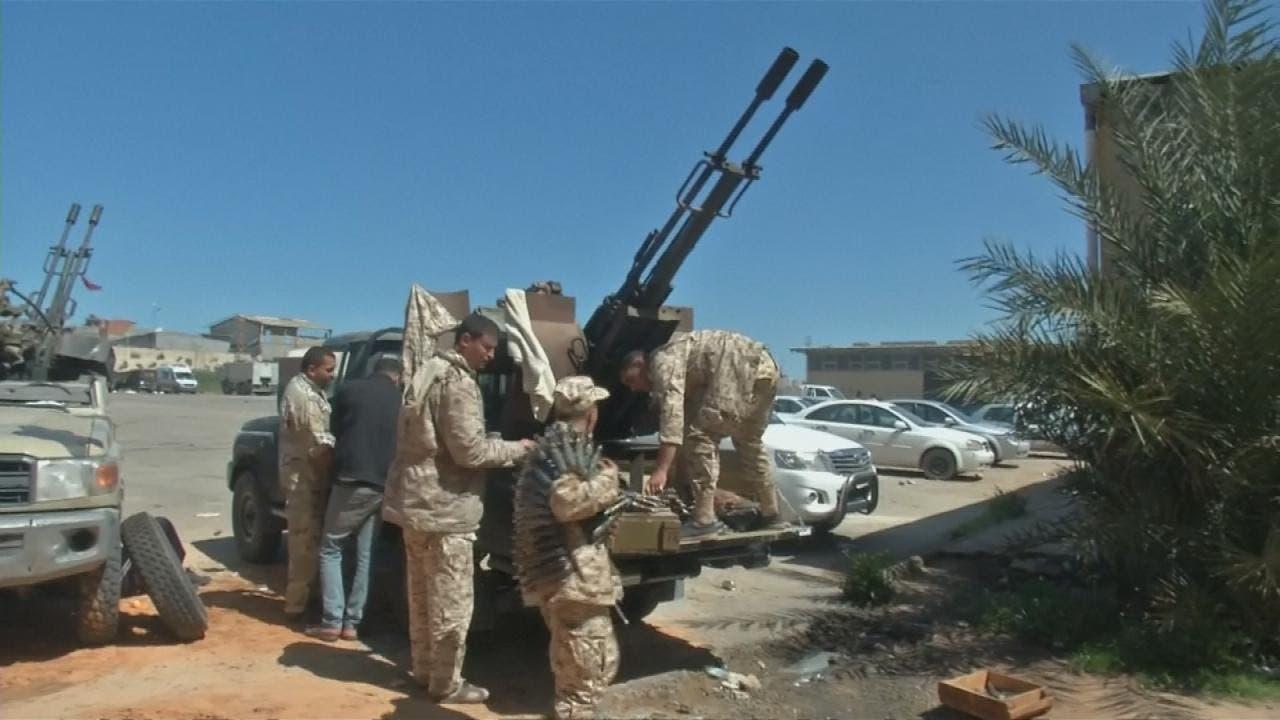 عناصر ينتمون لإخوان ليبيا - أرشيفية