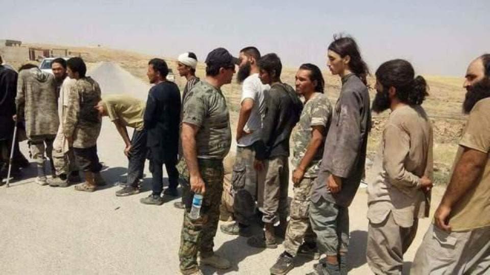 عناصر داعش في العراق