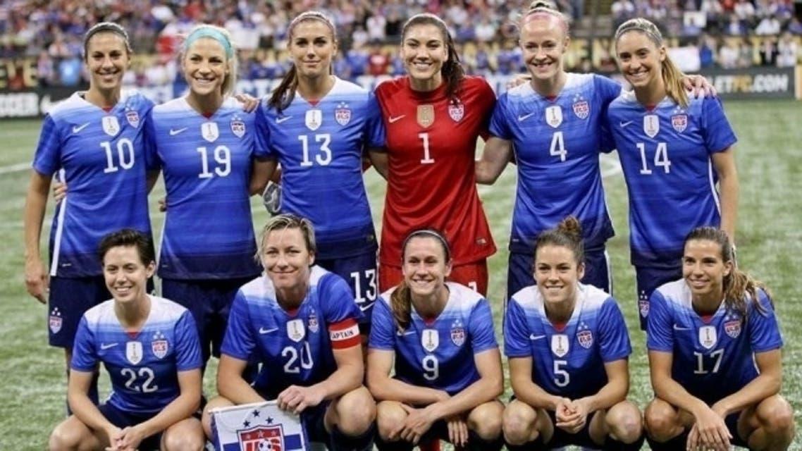 تیم فوتبال زنان آمریکا
