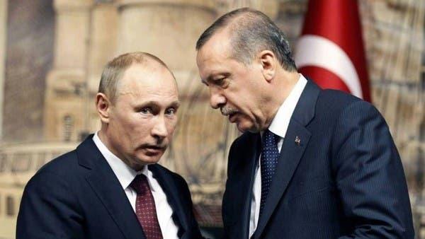 """أردوغان """"يناكف"""" بوتين عبر القرم.. والعين على سوريا"""