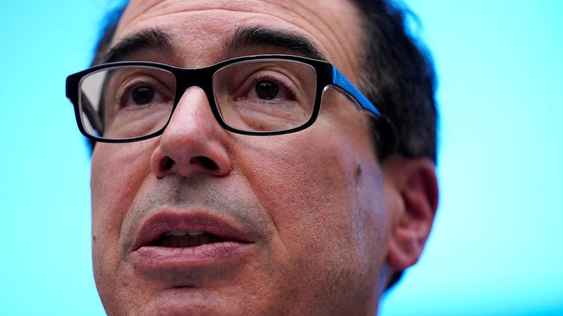 Mnuchin testifies before a House Financial Services Committee on Capitol Hill. (Reuters)