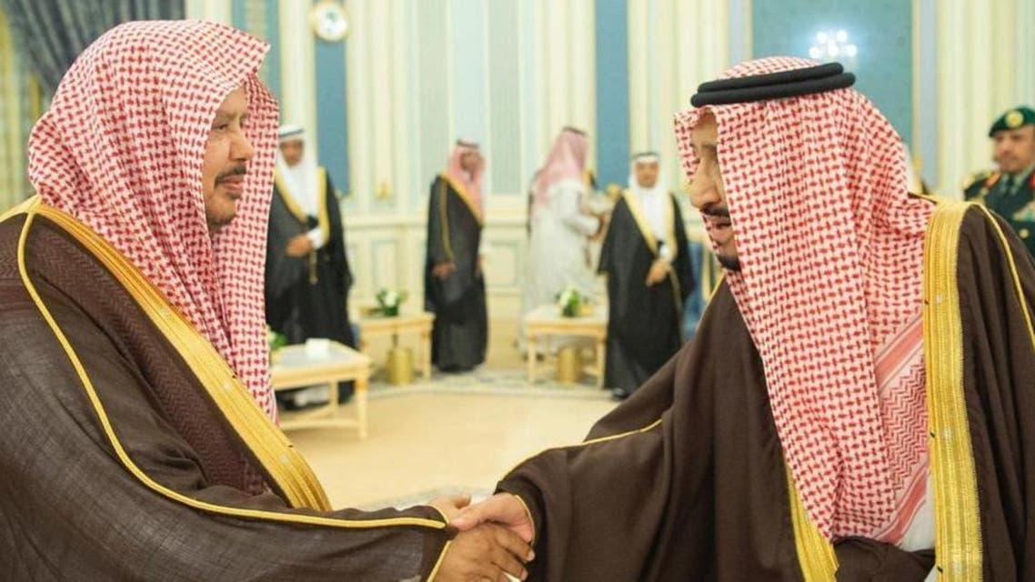 KSA: Shah Salman with majlis shura chairman