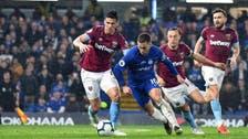 Inspired Hazard double hands Chelsea win over West Ham