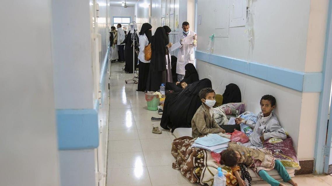 Yemen cholera. (AP)