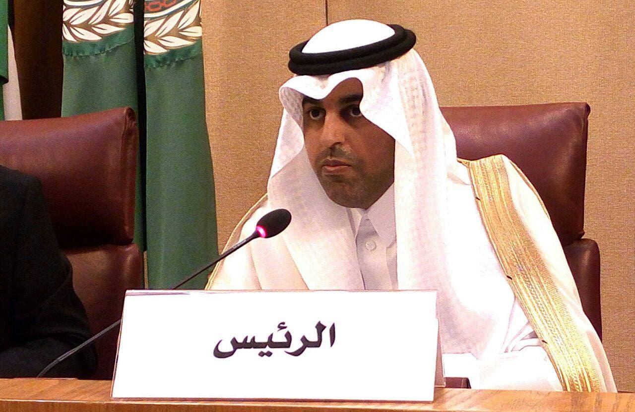 رئيس البرلمان العربي مشعل بن فهم السلمي