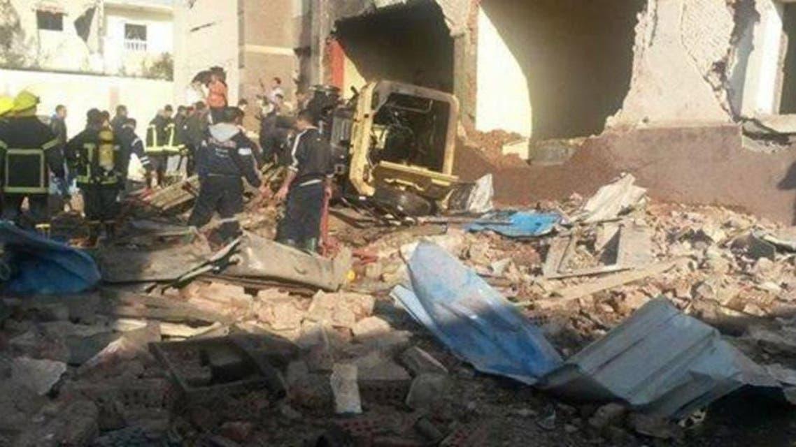 Blast in egypt