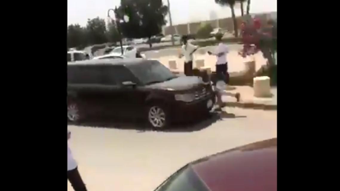 حادث دهس بالرياض