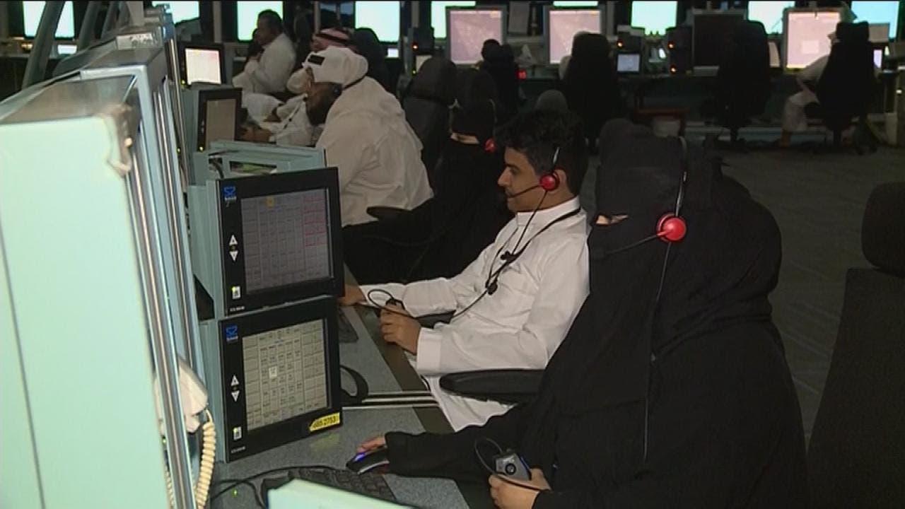 سعوديات في وظيفة المراقبة الجوية