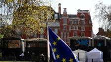 Brexit-hungry media to be turfed off grassy patch outside UK parliament