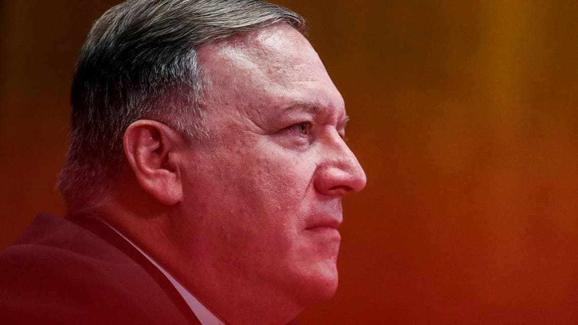 Pompeo testifies before a Senate Appropriations Subcommittee. (Reuters)
