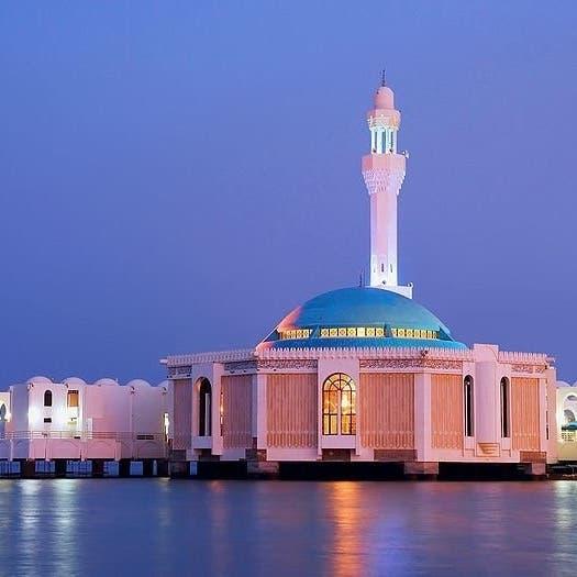 المسجد السعودي العائم في البحر.. الأول من نوعه بالعالم