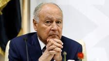 أبو الغيط: نريد التأكد من أن مقعد سوريا لا تشغله إيران