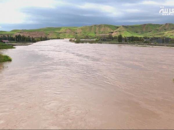 الفيضانات والسيول تغرق قرى جنوب العراق