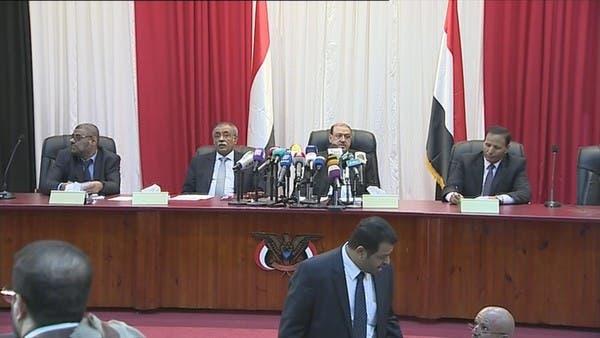 اليمن .. أول جلسة للبرلمان منذ الانقلاب بحضور هادي