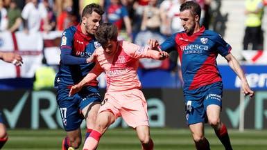 بمجموعة من الشبان.. برشلونة يتعادل سلبياً مع هويسكا