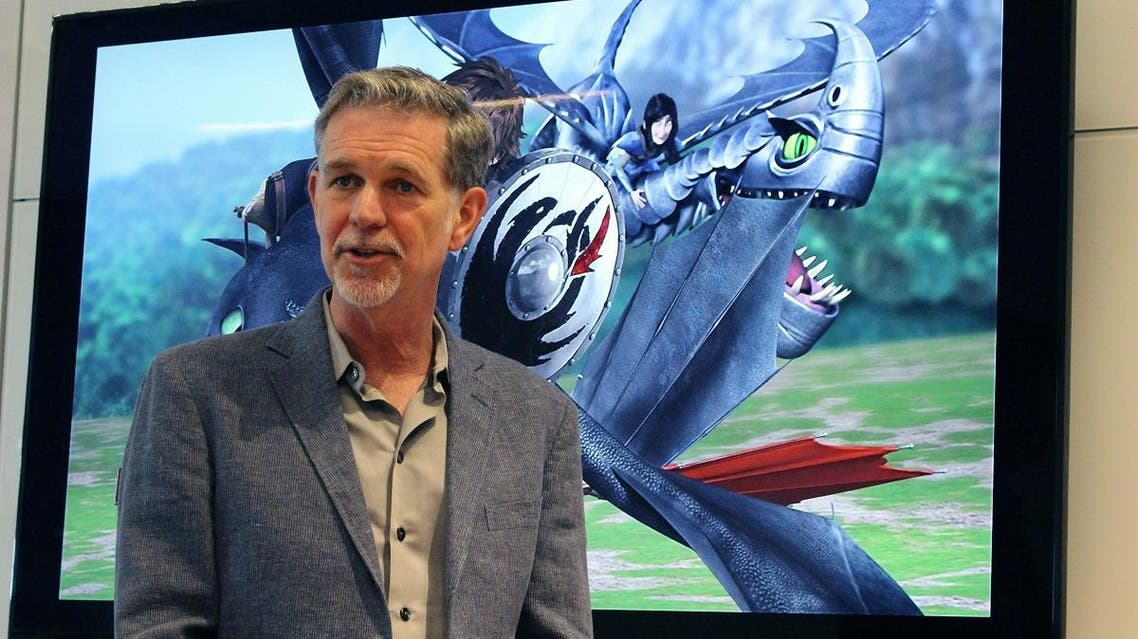 Netflix chief Reed Hastings. (AFP)