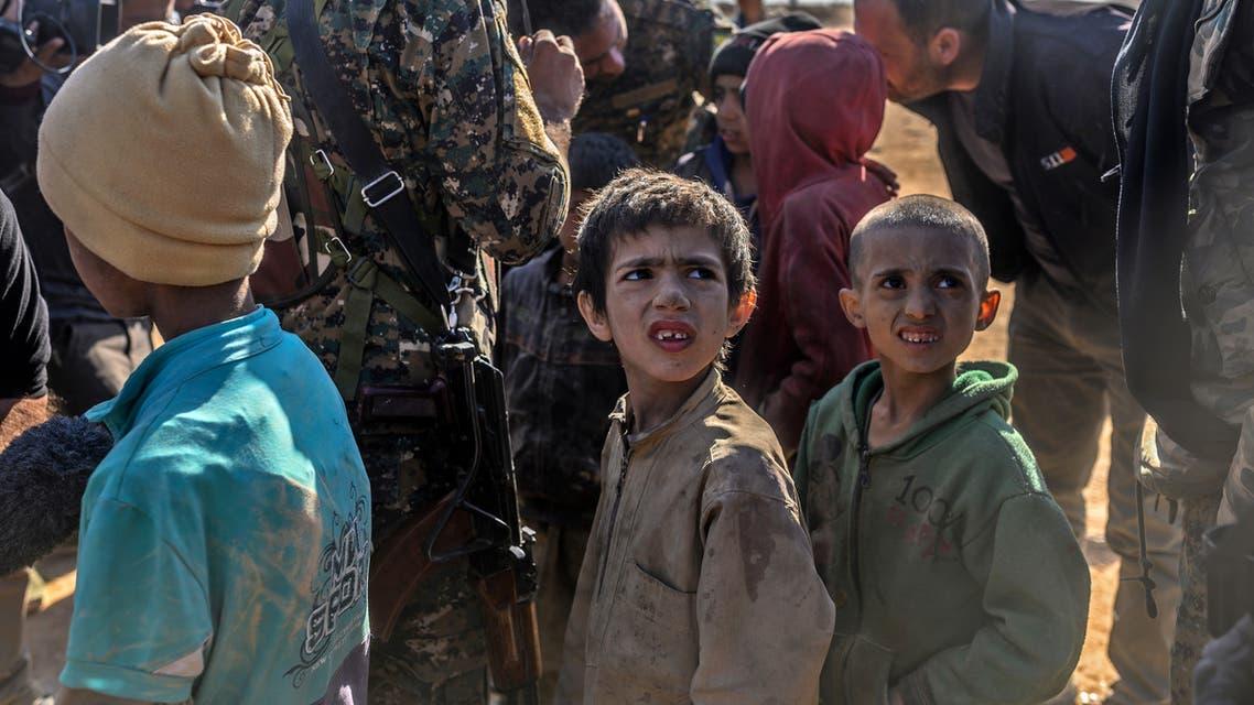 أطفال أيزيديون