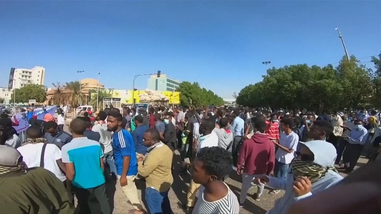 الاحتجاجات السودانية - أرشيفية