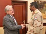 نائب رئيس المجلس الانتقالي بالسودان يلتقي مسؤولا أميركيا