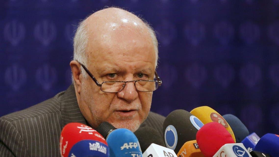 Iran's oil minister Bijan Zanganeh - AFP