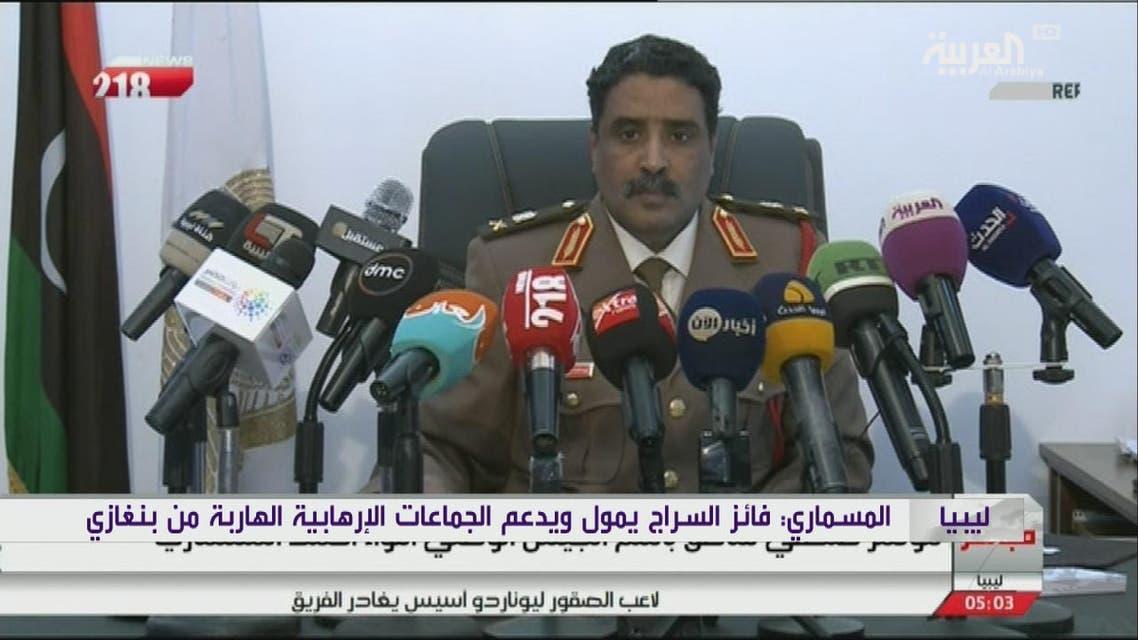 THUMBNAIL_ المسماري يتهم تركيا بنقل المقاتلين والأسلحة إلى ليبيا