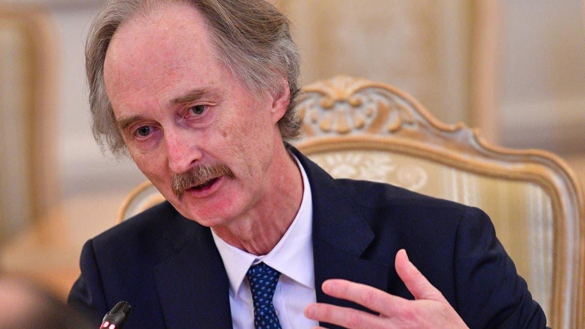 Norwegian diplomat Geir Pedersen (File photo: AFP)