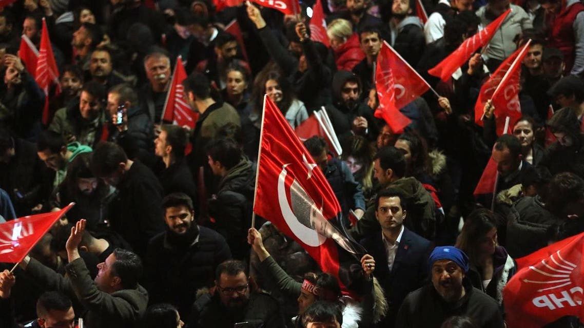 Turkey CHP supporters. (AP)