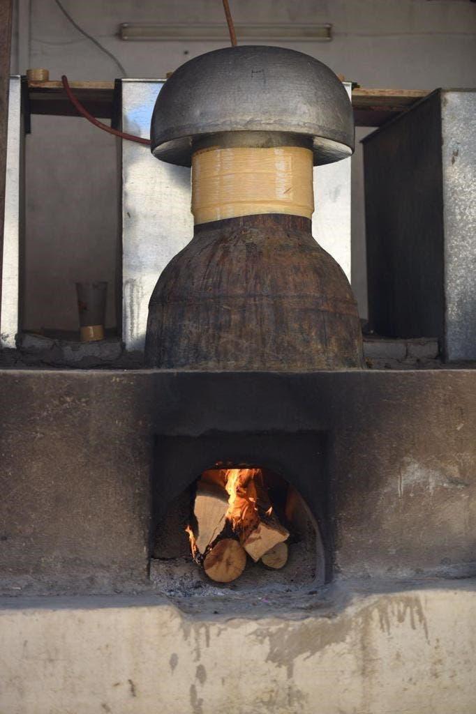 إنتاج الزيت بالحطب أكثر جودة وأعلى سعرا