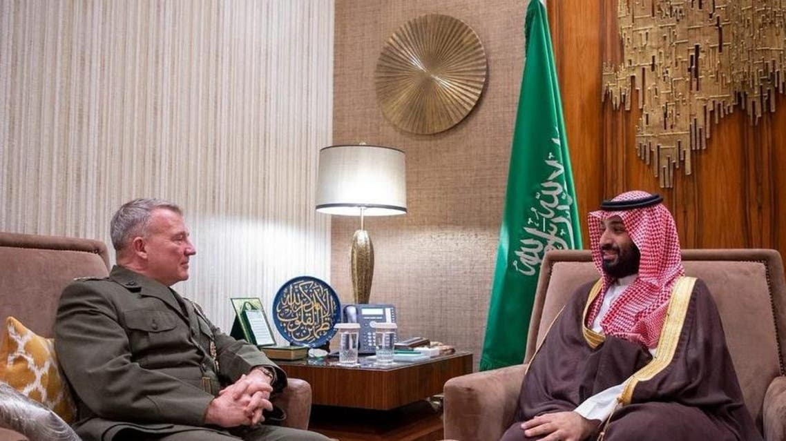 KSA, Crown Prince met with US chief centeral command