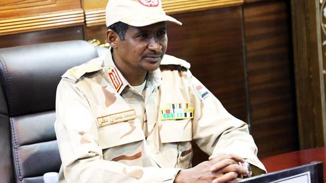 نائب رئيس المجلس العسكري السوداني محمد حمدان دقلو