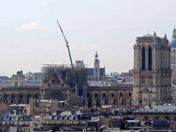 فرنسا تطلق مسابقة عالمية لإعادة بناء برج نوتردام