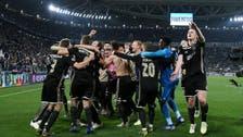 Juventus plunges after Champions League blow, Ajax leaps