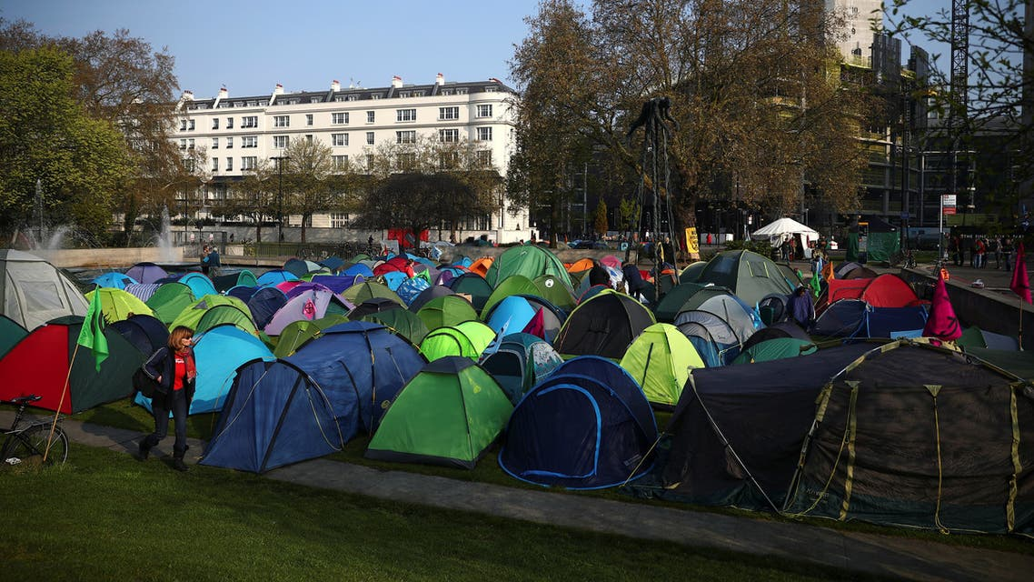 احتجاجات تغير المناخ لندن