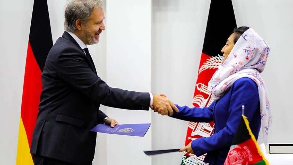 کمک 59 میلیون یورویی آلمان به افغانستان