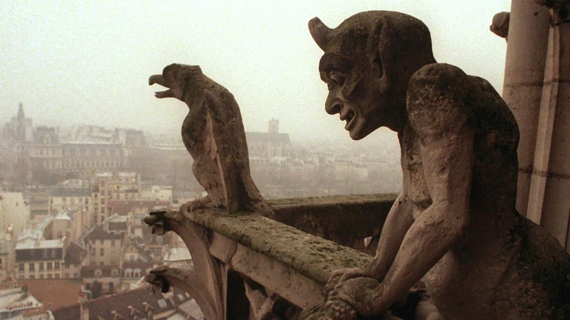 """Notre Dame and its gargoyles are one of the typical features of medieval Paris pictured in Walt Disney's """"Hunchback of Notre Dame."""" (AFP)"""