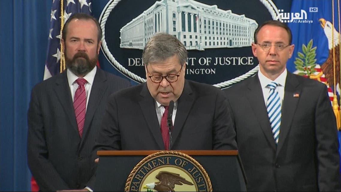 THUMBNAIL_ وزير العدل الأميركي: لجنة مولر لم تجد أي دليل على التآمر مع روسيا