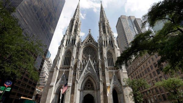 توقيف شخص يحمل بنزيناً وولاعات في كاتدرائية بنيويورك