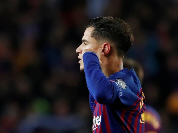 """""""إشارة قبيحة"""" تضع كوتينيو تحت ضغط جماهير برشلونة"""