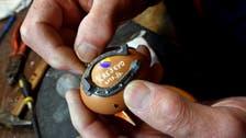 In Bosnia, 'master' blacksmith had to shoe an egg