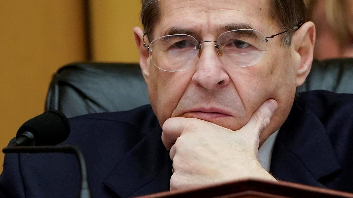 Jerrold Nadler (D-NY), Chairman of the House Judiciary Committee, listens to testimony during a mark up hearing on Capitol Hill in Washington. (Reuters)