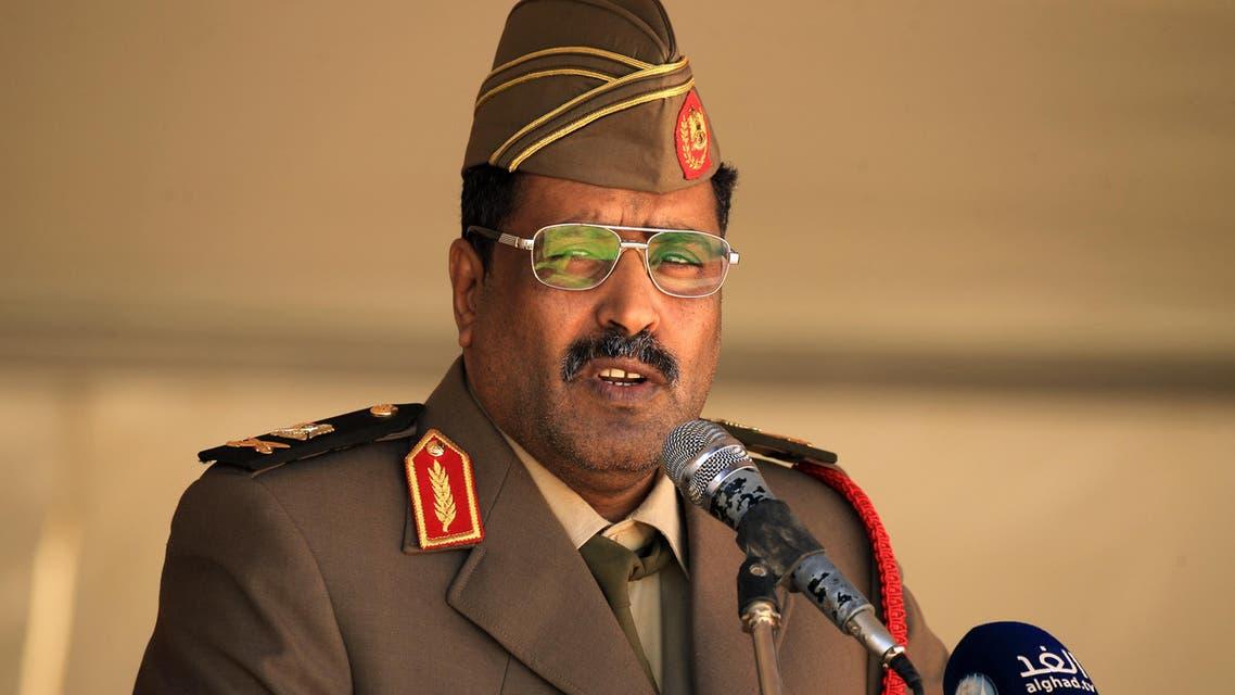 Brigadier Ahmed al-Mesmari, spokesman of the Libyan armed forces loyal to General Khalifa Haftar. (AFP)
