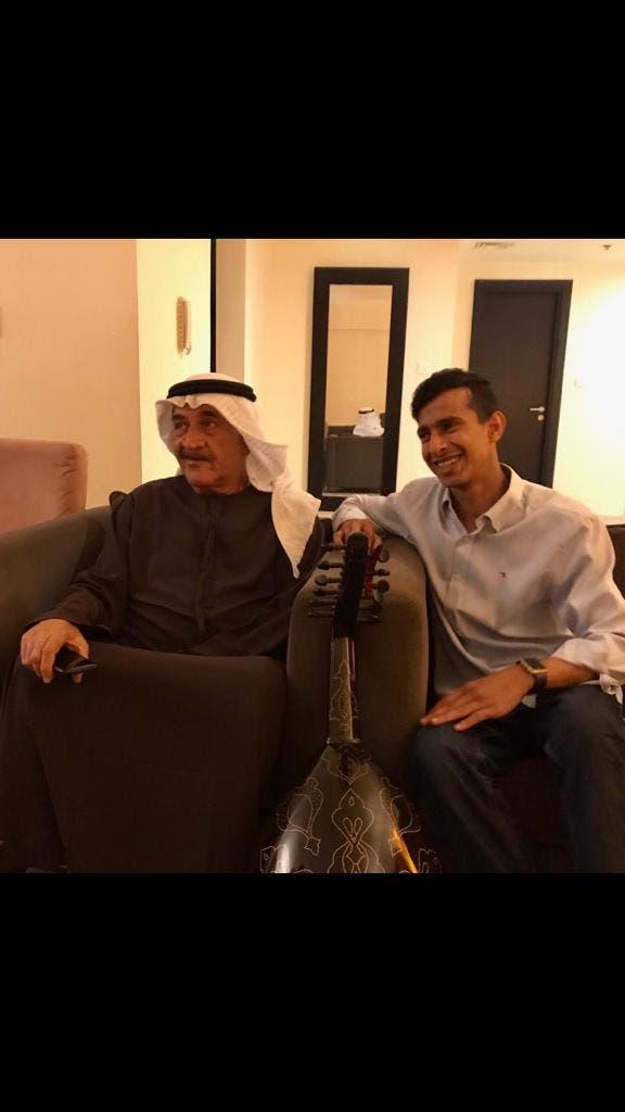 مع الشاعر الإماراتي سالم الخالدي