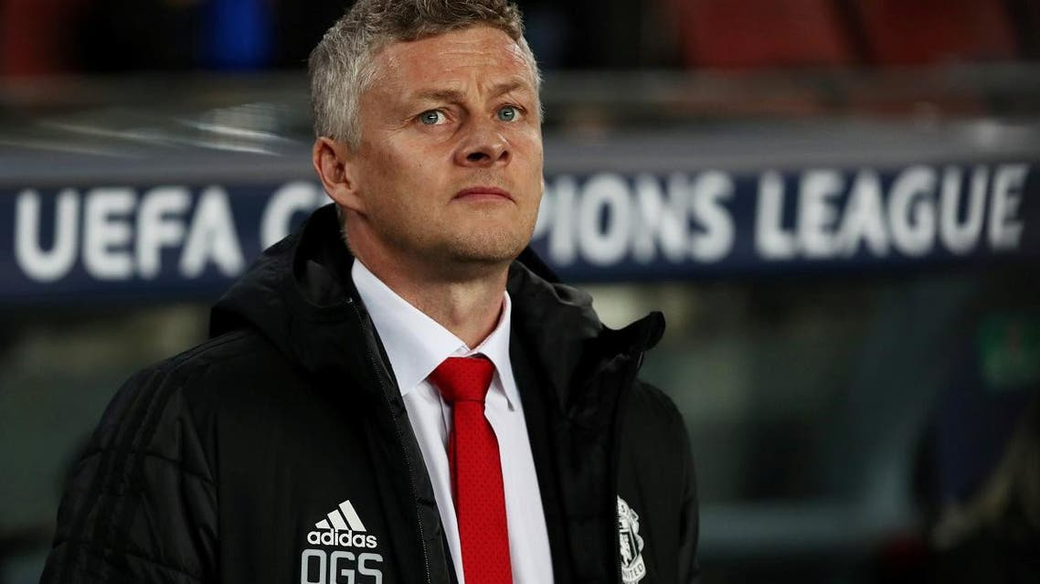 Manchester United manager Ole Gunnar Solskjaer before the match against Barcelona in the  Champions League Quarter Final Second Leg on April 16, 2019. (Reuters)