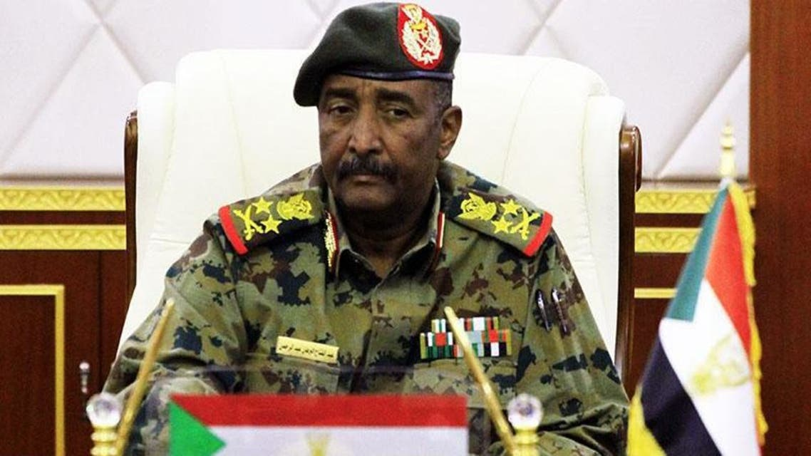 رئيس المجلس العسكري الانتقالي الفريق أول ركن عبدالفتاح البرهان عبدالرحمن
