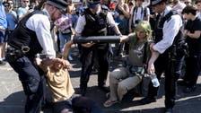 برطانیہ : لندن میں تحفظ ماحول کے لیے مظاہرے جاری ، 700 افراد گرفتار