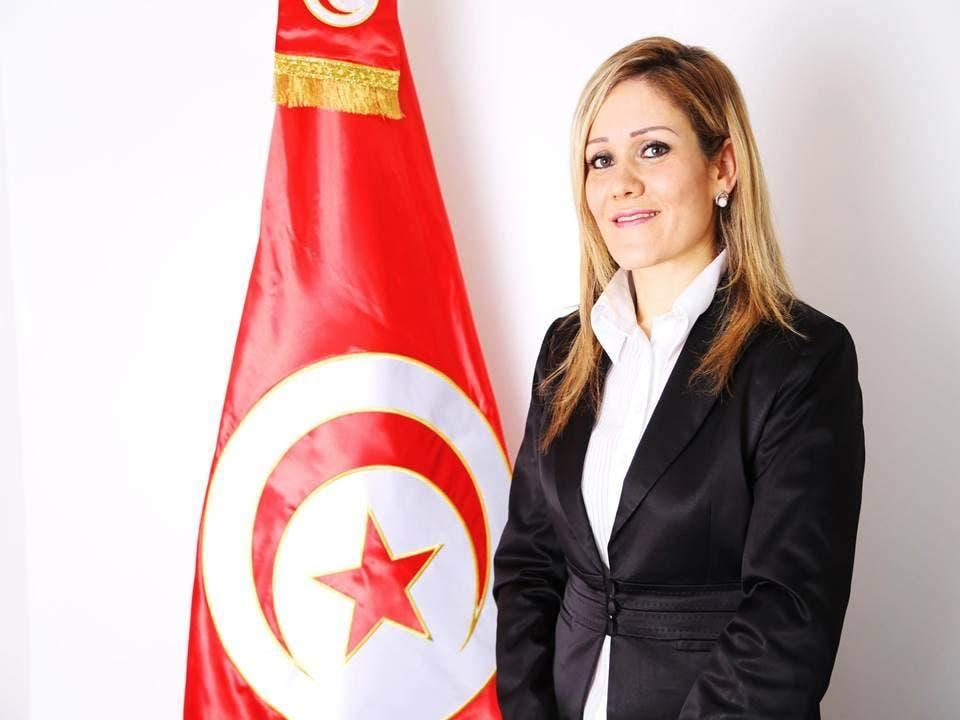 لميا بلمليح نماینده در پارلمان تونس