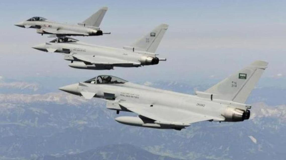 Arab coalition fighter jets. (Supplied)