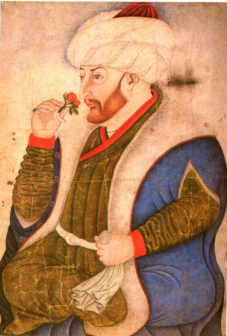 السلطان العثماني محمد الثاني